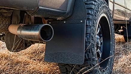 KickBack Mud Flaps for Lifted Trucks