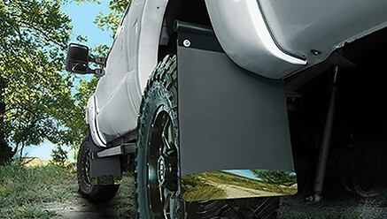 Removable Mud Flaps