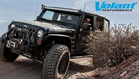 Jeep with Volant accessories installed