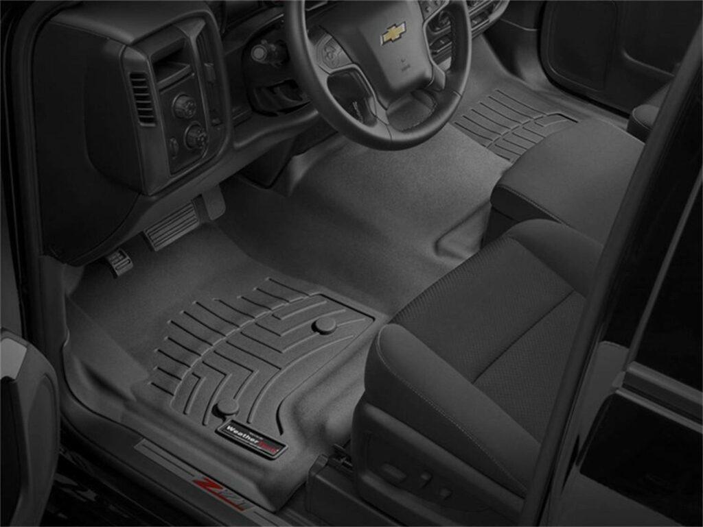 WeatherTech Car Mats installed