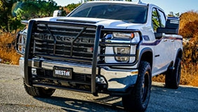 Truck with Westin products installed