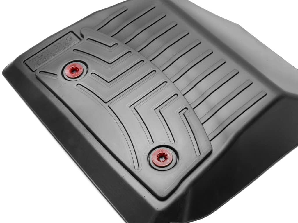 Photo of WeatherTech anchor retention system