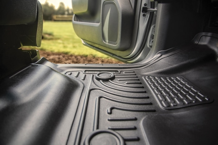 Husky liners weather floor mats and liners: Construction