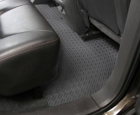 Photo of gray Lloyd Northridge floor mats installed