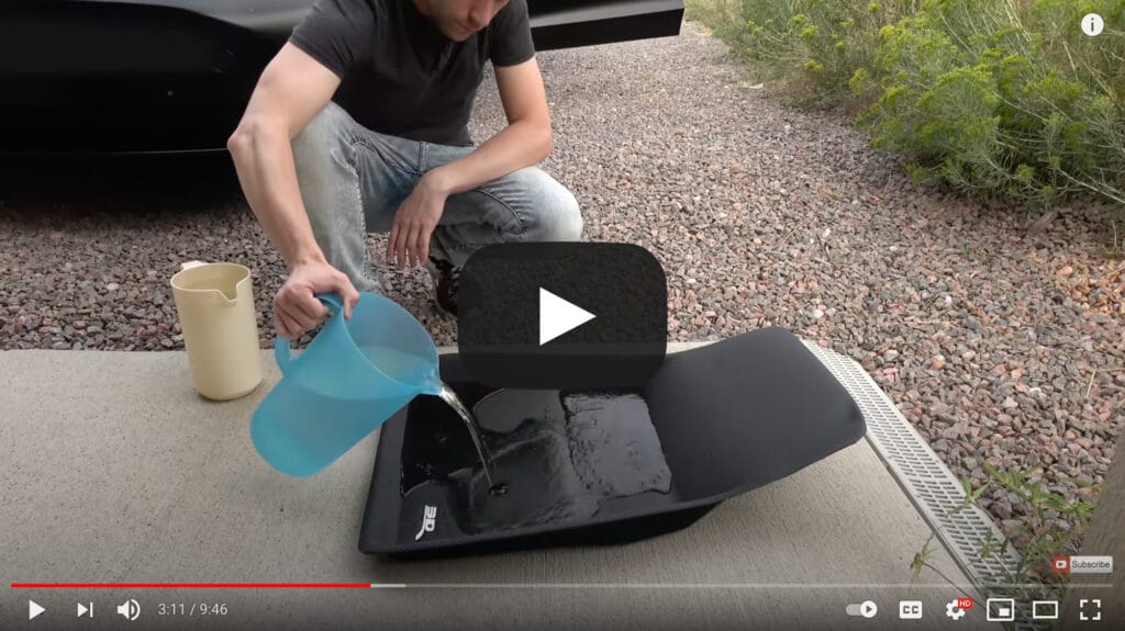 Video thumbnail of Daerik testing the MAXpider mats