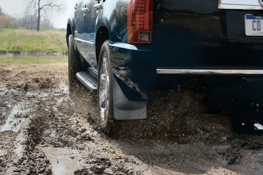 WeatherTech no-drill mud flaps; mud guards for dodge ram and other popular truck brands