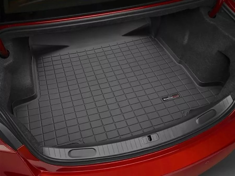 weather tech floor liners: cargo liner for your car's trunk