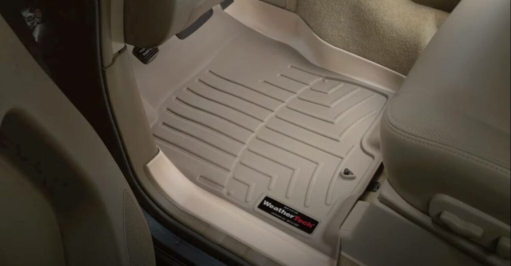 digitalfit floor liners that fit perfectly into a car's interior to protect surfaces
