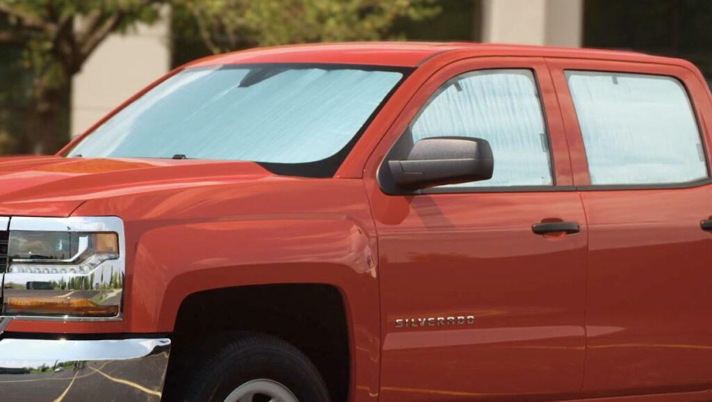 full vehicle kit WeatherTech sunshade to keep vehicles cool during hot weather