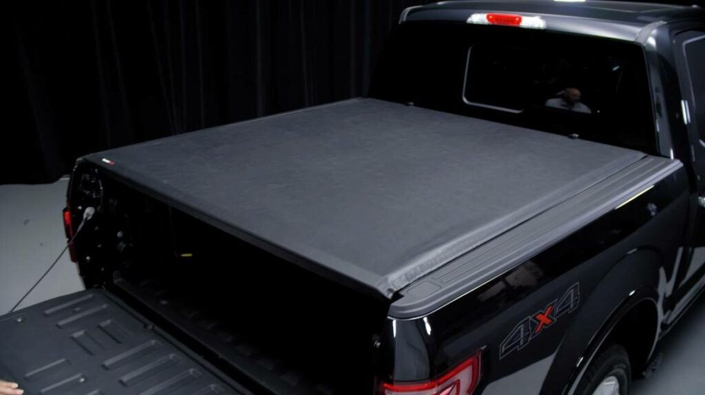 WeatherTech Roll-Up tonneau cover installed