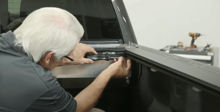 Installing roll-N-Lock tonneau cover
