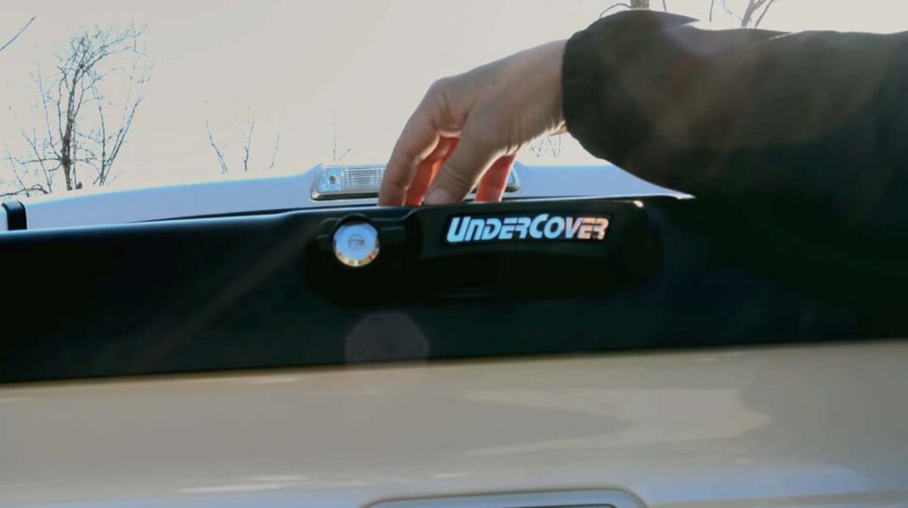 UnderCover tailgate key access