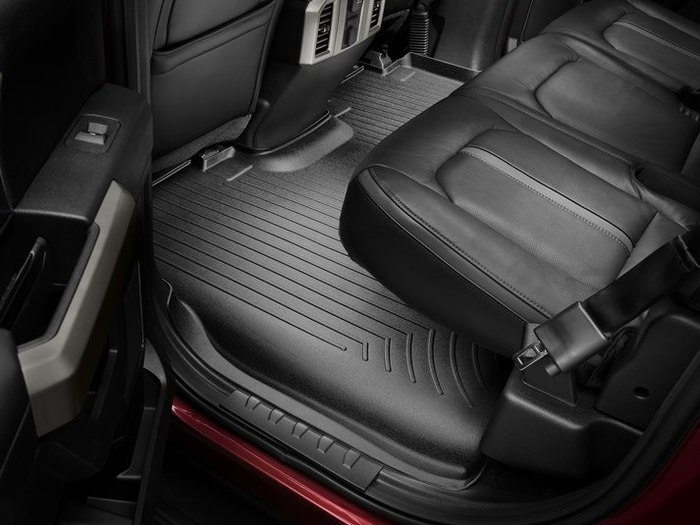 Interior mats giving a superior look to the second row while being virtually odorless