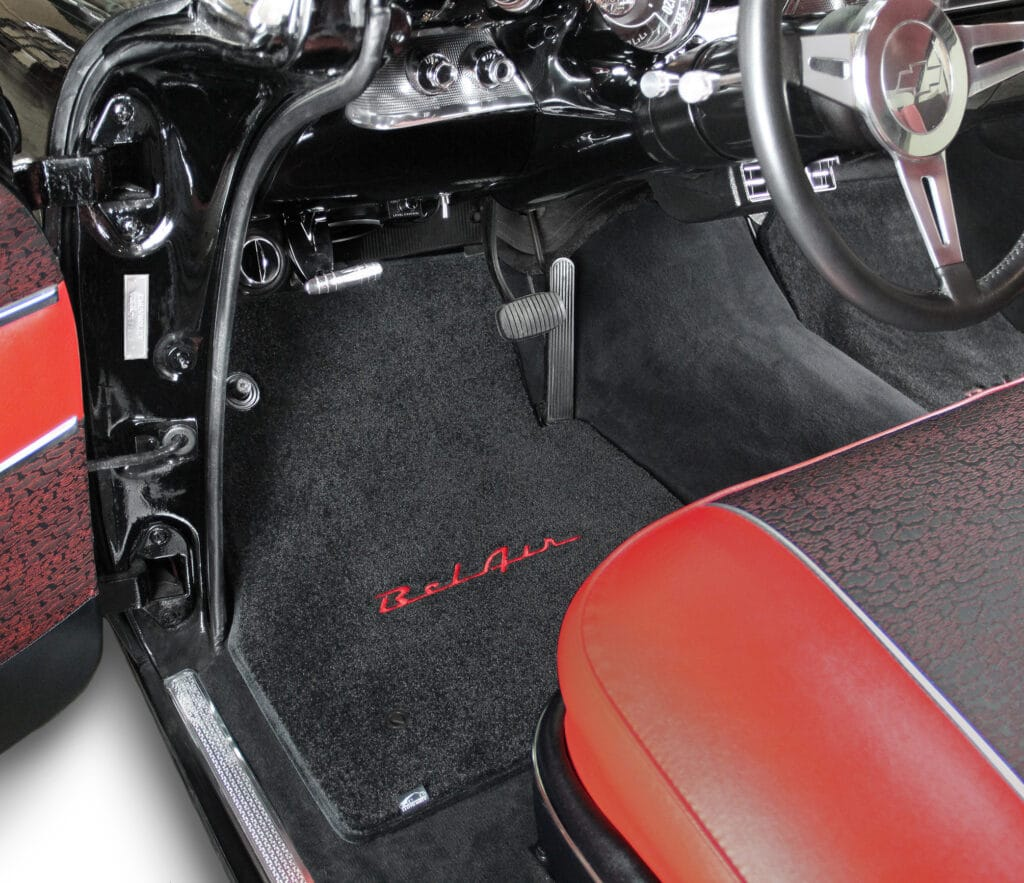 Lloyd Ultimats installed in a Chevy Bel Air